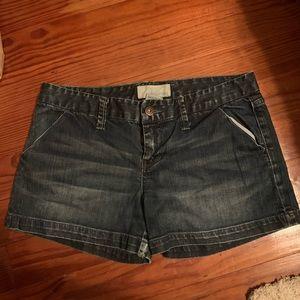 Maurice denim Shorts